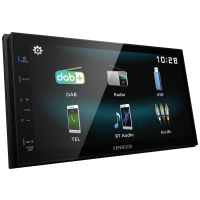 "Kenwood DMX125DAB - 6.8"" Screen DAB+ Tuner Bluetooth Android"