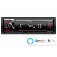 Kenwood KMM-BT206 - Mechless USB Bluetooth Stereo Spotify & Alexa Ready